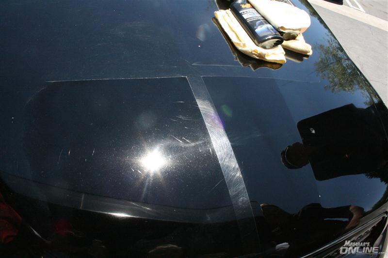 Car Paint Swirl Light
