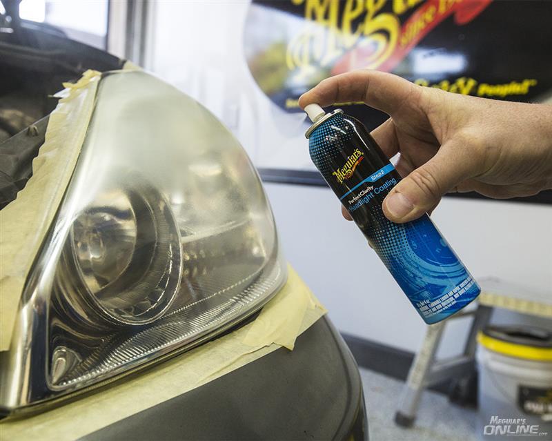 Using Perfect Clarity Headlight Restoration Kit